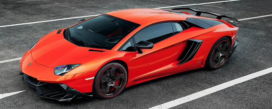 2014 Lamborghini Aventador Mansory Competition